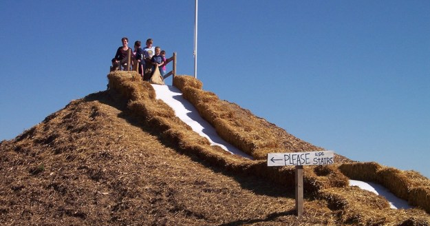 Giant Hill Slide attraction